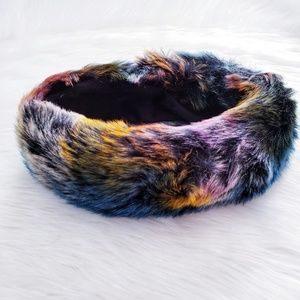 Betsey Johnson Faux Fur Afterparty Ear Warmer
